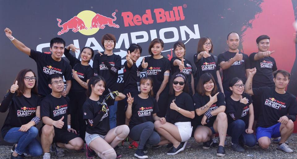 Centech participated in The red bull champion dash 2016.