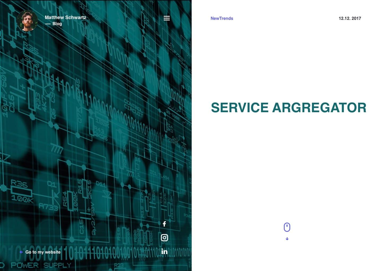 SERVICE ARGREGATOR